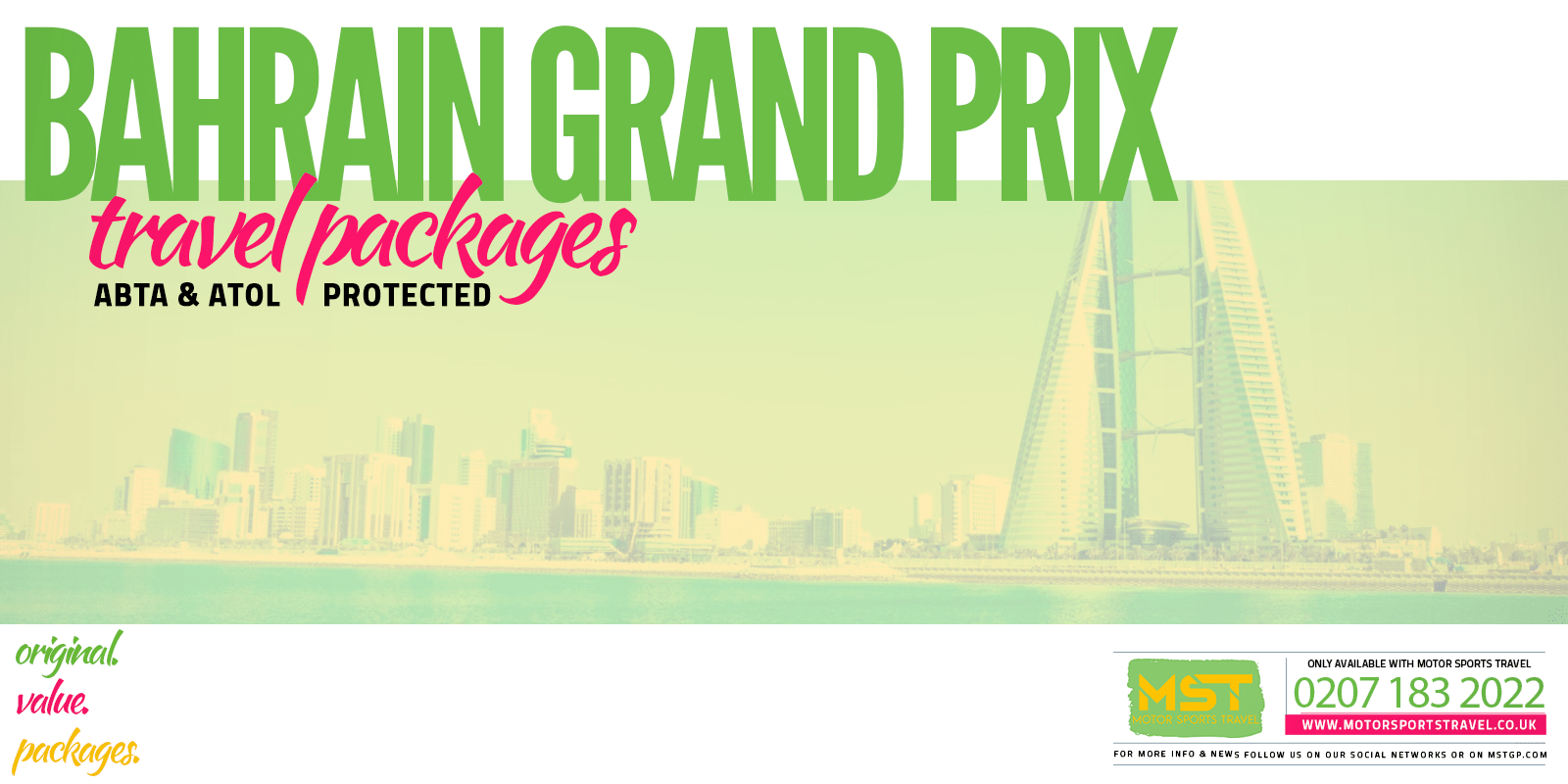 Formula 1 Calendar | Exclusive Packages from £699 | Motor